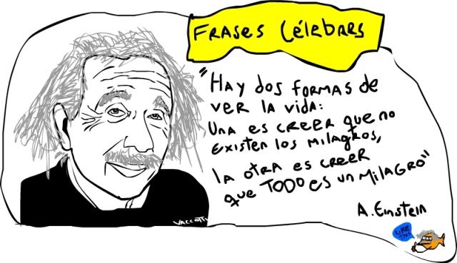 Einstein milagro